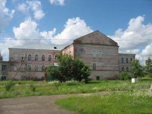 Келейный корпус Боголюбского монастыря, где располагалась домовая Благовещенская церковь